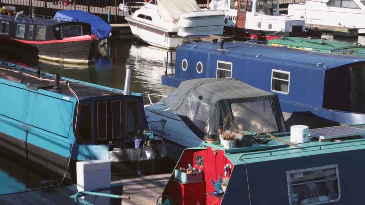 Houseboat Videography Bristol